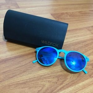 Accessories - Wildfox Blue Sunnies